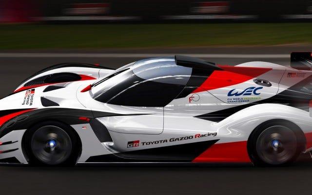 टोयोटा निश्चित रूप से इस धीरज रेसिंग थिंग के साथ रहना है
