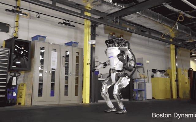 カエル-この反抗的な体操ロボットをオロドルインの火に直接行進させる