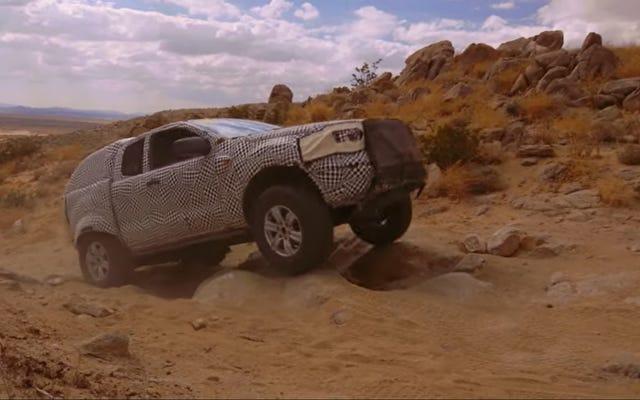 Oto pokaz prototypu Forda Bronco 2020