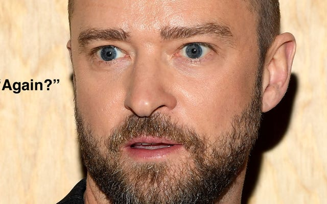 Ancora una volta, giriamo intorno a Justin Timberlake e indichiamolo ancora