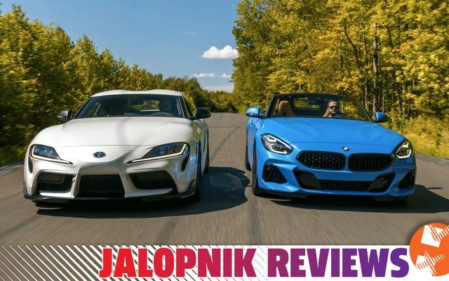 Por qué prefiero el BMW Z4 al Toyota Supra 2020