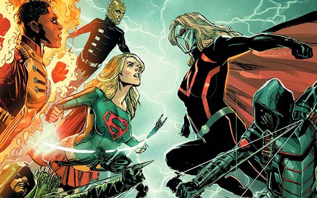 今年のDC / CWクロスオーバーは、スーパーガール、フラッシュ、グリーンアローの邪悪なバージョンで「危機」モードになります