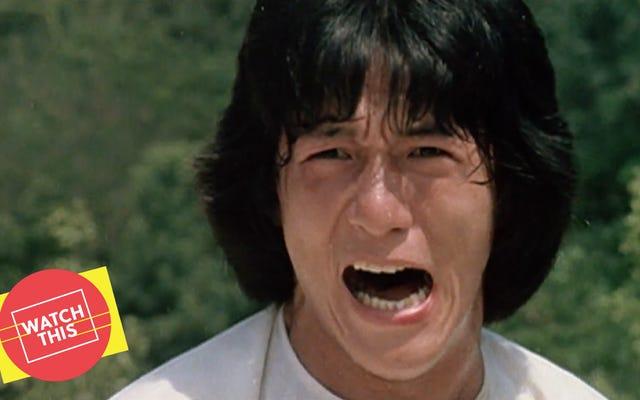 """Un """"Jacky"""" Chan pre-fama si è preparato per il grande momento con un racconto polverizzante di vendetta"""