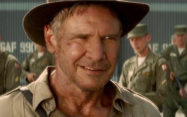 Harrison Ford và Steven Spielberg Trở lại với Indiana Jones 5 vào mùa hè 2019