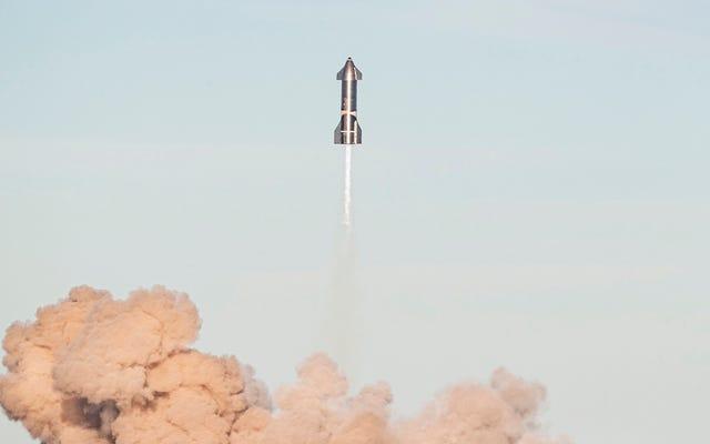 Mire en vivo: SpaceX intenta el segundo lanzamiento a gran altitud de un prototipo de nave espacial