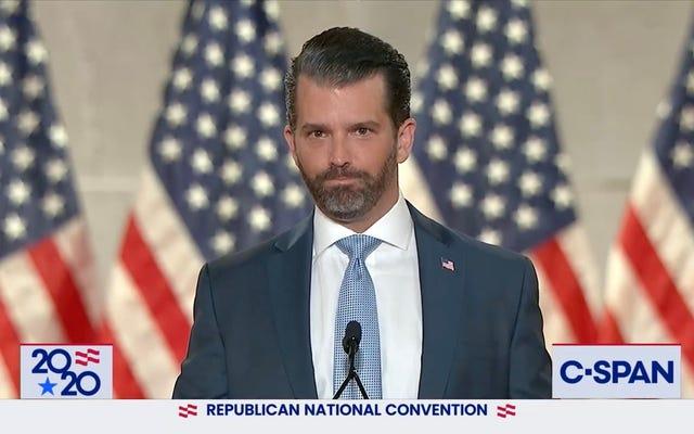 共和党全国大会中のTwitterの「コカイン」トレンド