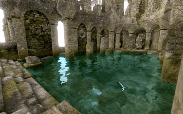 これは、Dark Soulsの照明を制御するフォルダーを削除し、彩度を上げるとどうなるかです。