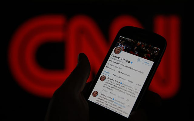 トランプの反CNNビデオは人種差別的なルーツを持っています