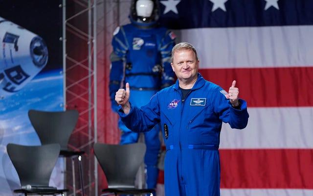 NASAが最初のボーイングスターライナークルードフライトから宇宙飛行士エリックボーを引っ張る、マイクフィンクは代わりに飛ぶ