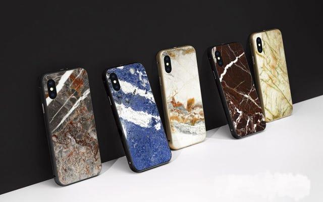 ปกป้องโทรศัพท์มูลค่า 1,000 เหรียญของคุณด้วยหินจริง
