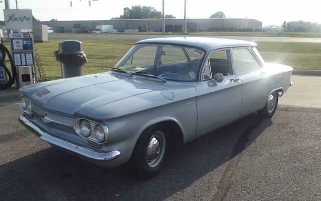 $ 7,000 के लिए, क्या यह 1961 चेवी कॉर्वायर 500 एक लड़ाई की संभावना है?