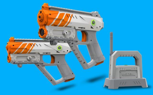 Bu AR Donanımlı Lazer Etiket Oyunu AR'de Hafif, Eğlencede Ağır