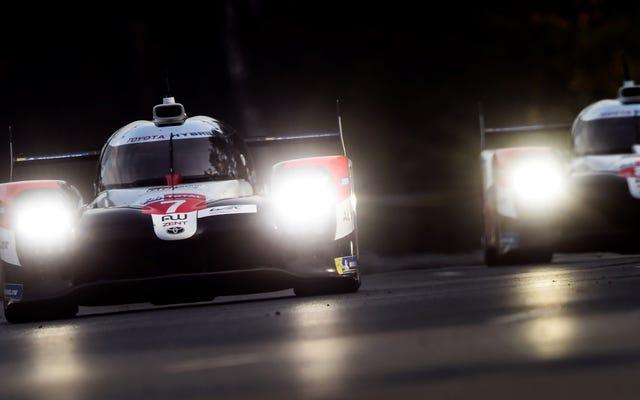 24 Horas de Le Mans 2020, 8 horas en: Toyota mantiene su dominio