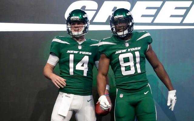 Estos nuevos uniformes de Jets chupan chupan chupan chupan