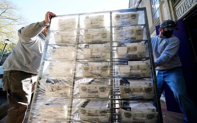 郵送を待つ:法的な問題が迫っているため、何百万もの郵送投票が数えられないままです