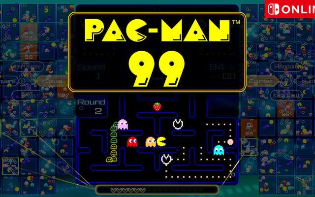 'पैक-मैन 99' के साथ एक लड़ाई रोयाल में अपने रेट्रो गेमिंग कौशल का परीक्षण करें