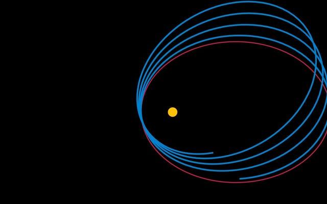 私たちは水星の軌道について少し間違っているかもしれません