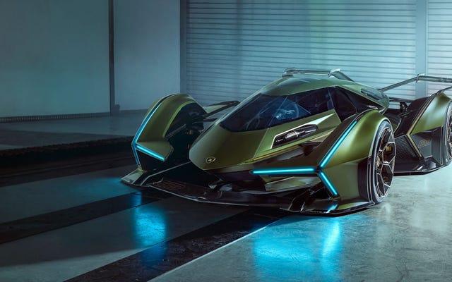 La nouvelle voiture de Lamborghini ressemble à la Batmobile du futur