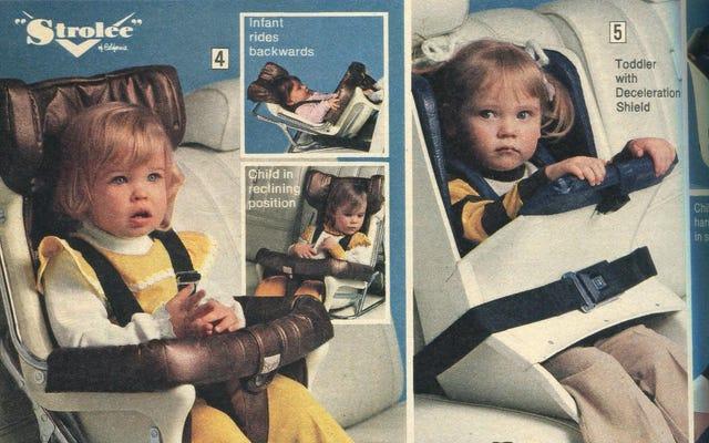 Procurati un carico di questi seggiolini auto del 1977