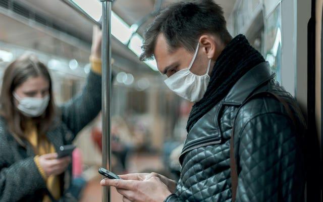 公共交通機関ではマスクが必須になりました
