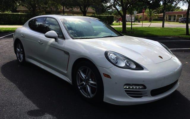 ด้วยราคา $ 22,999 คุณจะกระโดดออกจากกระทะและเข้าสู่ Porsche Panamera 4 ปี 2011 นี้หรือไม่?