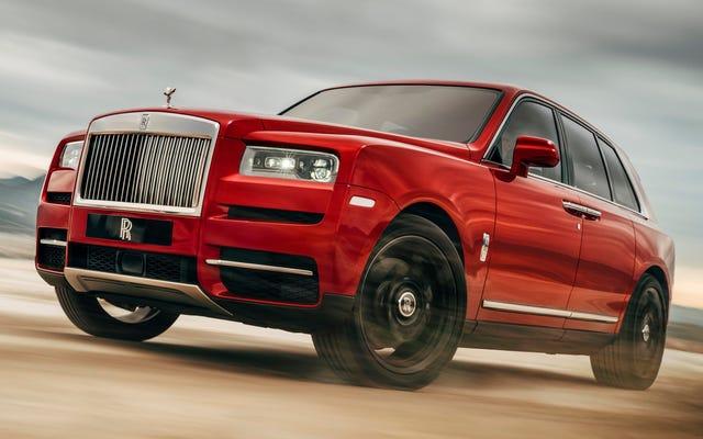 Rolls-Royce non riesce a tenere il passo con la domanda del SUV Cullinan