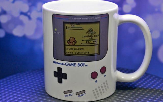 Mug Pokemon Game Boy, Karena Kafein Adalah Juara Sejati Anda