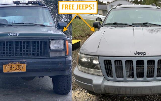 Giúp tôi quyết định xem tôi có nên sử dụng những chiếc xe Jeep miễn phí này không