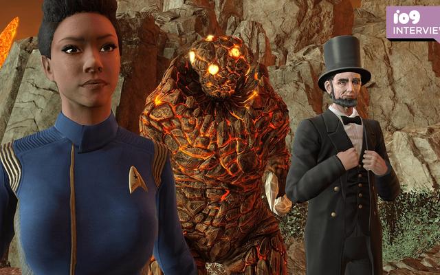 Discovery's Sonequa Martin-Green o przenoszeniu swojego dziedzictwa Star Trek do gier wideo