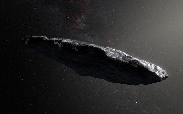 Oumuamua, il primo oggetto interstellare, è più piccolo e più veloce di quanto si pensasse in precedenza
