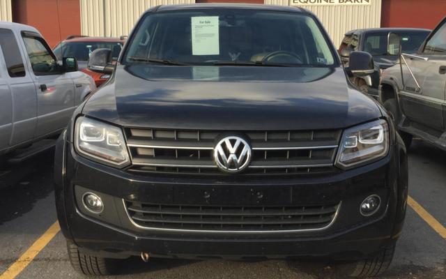 Il y a une superbe Volkswagen Amarok à vendre aux États-Unis, mais vous ne devriez probablement pas l'acheter