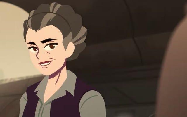 Ce court métrage animé de la princesse Leia Star Wars est juste une pure joie