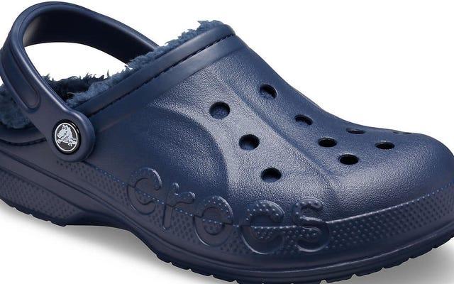 Le Crocs hanno un raggio di tre isolati, punto