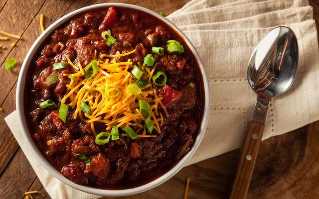 Добро пожаловать в Skillet Chili Cook-Off