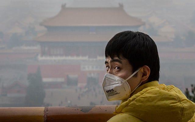 Asya'daki Tüm Kirlilik ABD'de Dumana Dönüşüyor