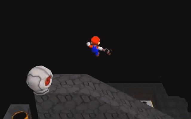 Modder Mario 64'ü Portala Döndürüyor