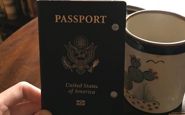 อย่าเป็นเหมือนฉันคนโง่หนังสือเดินทาง
