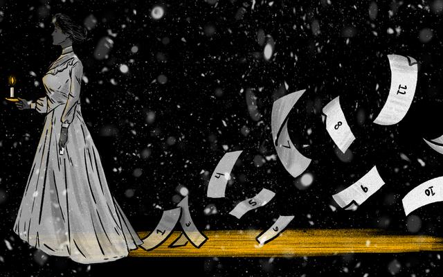 1915年からの身も凍るようなクリスマスゴーストストーリー