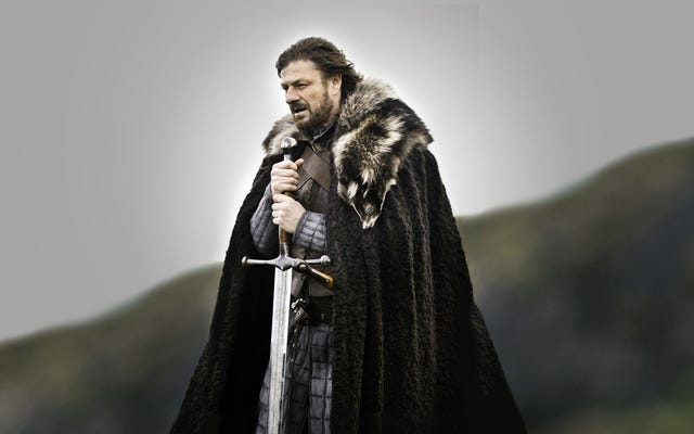 Próbując stworzyć grę o tron Valyrian Steel Sword z prawdziwymi materiałami