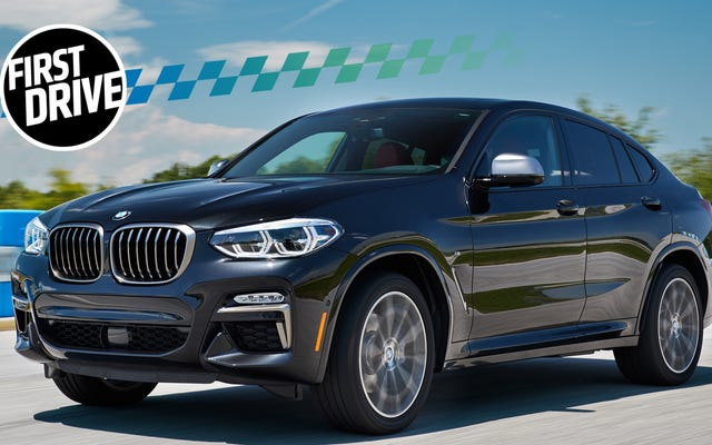 2019 BMW X4 M40iは、ばかげたクロスオーバーのケースになります