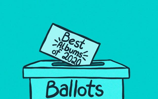 2020年のベストアルバム:投票