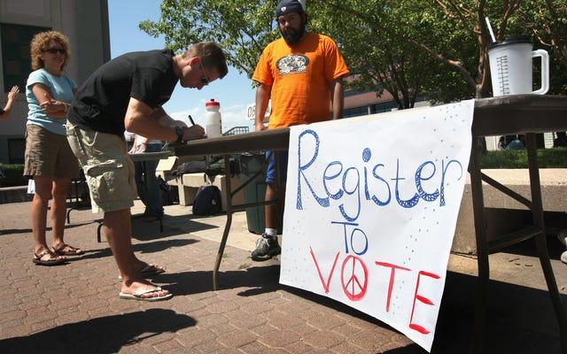 Inscrivez-vous pour voter maintenant