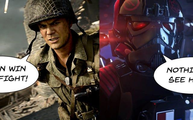 The Call Of Duty: WWII Fiasco vs Star Wars: Battlefront II Mess: il confronto che dovevamo fare