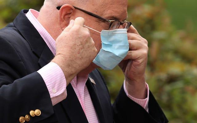 メリーランド州知事ラリーホーガンはトランプを待たず、韓国から50万個のコロナウイルステストキットを注文