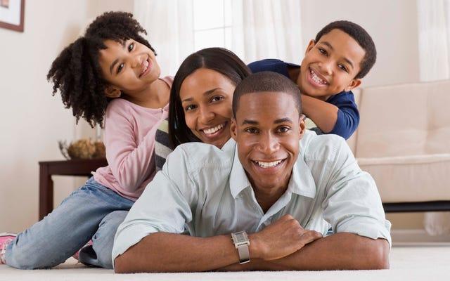 黒人の家族は白人の家族と同じ量の富を蓄積することから228年離れています