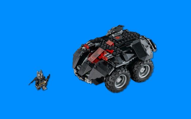 レゴの新しいリモートコントロールバットモービルは、ヘックのように楽しく見えます