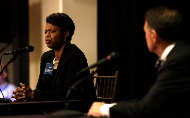 ノースカロライナ州の最初の黒人女性最高裁判所の裁判官は、裁判所で最も保守的な男性に席を失う可能性があります