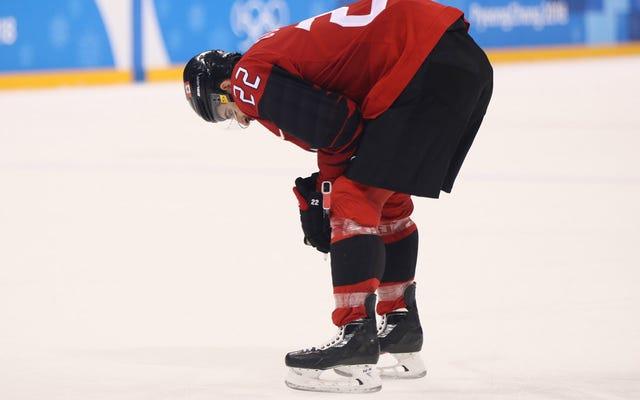 カナダは再びホッケーに敗れる