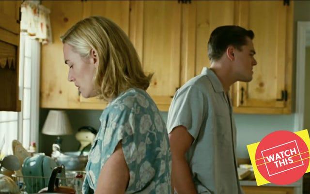 タイタニックから10年後、ケイトとレオはミッドセンチュリー郊外の地獄でつま先まで行きました