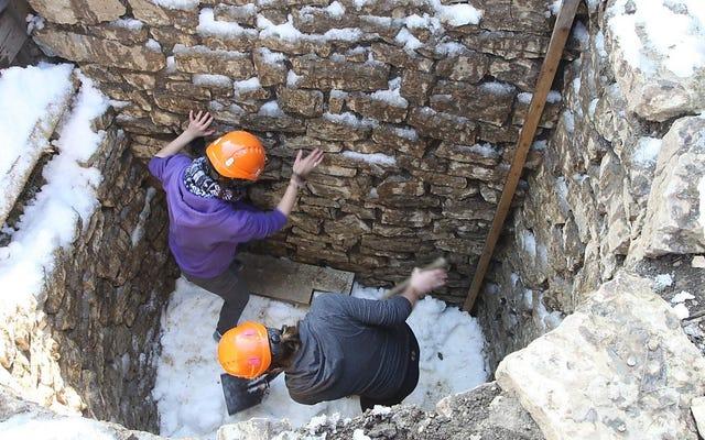 क्या प्राचीन रोमियों ने इन शाफ्टों का उपयोग गर्मियों के रेफ्रिजरेटर के रूप में किया था?